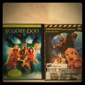 Other - Scooby-Doc and Dia Guard DVDs